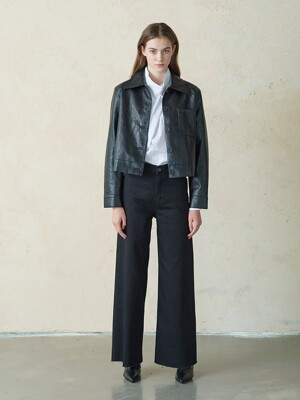 DS#3347_black high rise wide pants