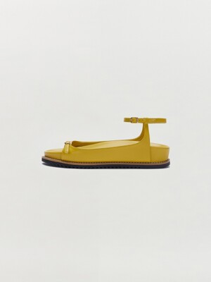SABRE Mary Jane Sandle - Mustard