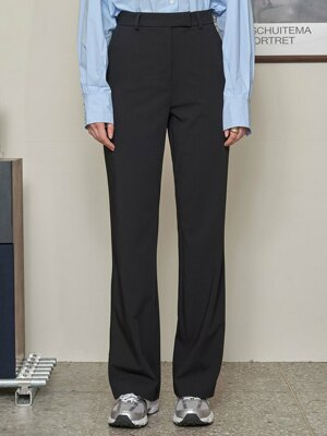SI PT 7023 Long Wide Slacks_Black