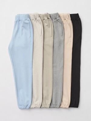 [SET]Banding Cotton Sweat Pants(6 colors)