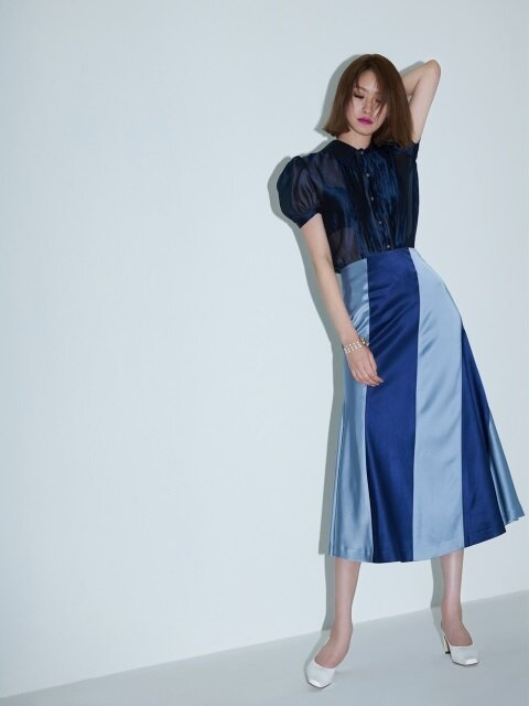 Duchess Skirt(STRIPE)