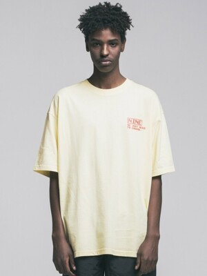 [리퍼브] PIXEL T-SHIRT YELLOW