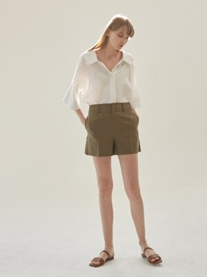 Summer linen short pants [KA]