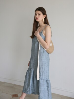 Back Point Slip One-Piece_Blue