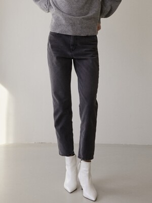 comos'284 straight greyish denim (charcoal)