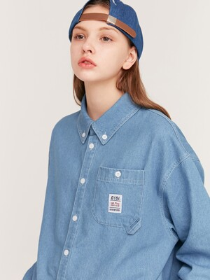 LABEL POINT SHIRTS_blue