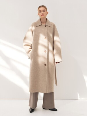 CASHMERE SOUTIEN COAT [HAND MADE] 2COLOR