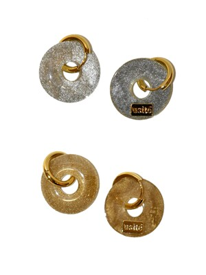 2Ways Doughnut earring (2color)