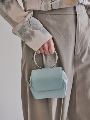 MINI SHELL BAG - SKY MINT