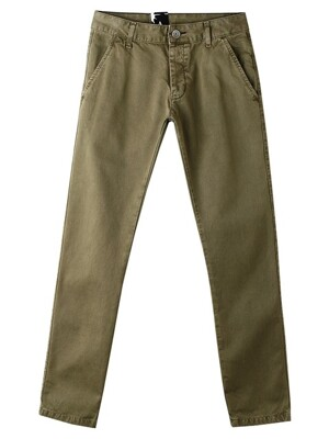 DONK CHINO PALE ARMY GREEN