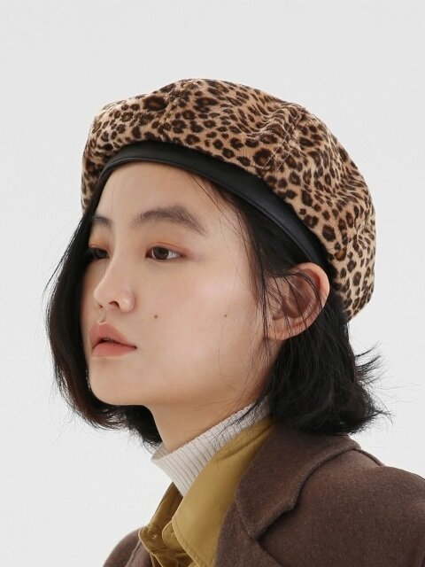 [단독]BREAD BERET / ANIMAL / DESERT LEOPARD