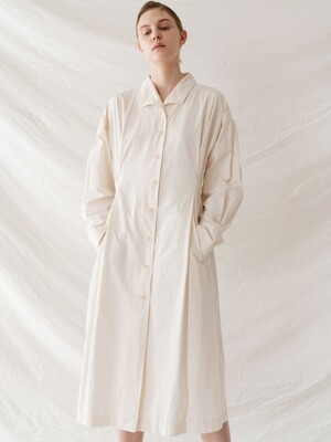 banding trench onepiece (ivory)