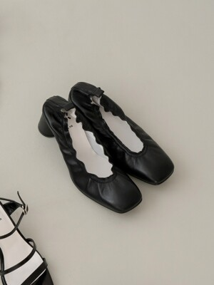Meringue pumps 6cm / YY9S-P09 Black