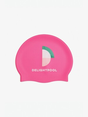 It's Not A Competition Swim Cap - Pink