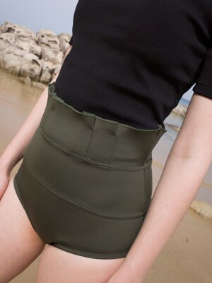 Tucking swim brief_khaki