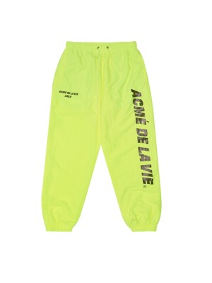 ADLV NYLON PANTS NEON YELLOW