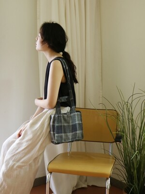 A BAG _ blue check