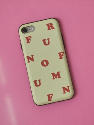 Signature card phone case