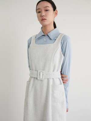 20S TWEED DRESS (SKY BLUE)