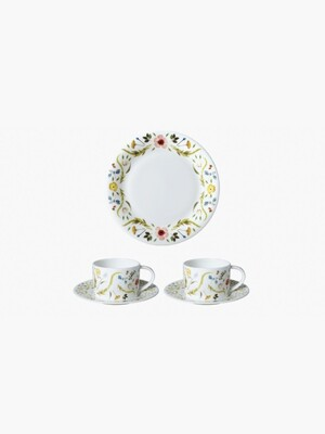 Scandinavian Floral TEA Time SET