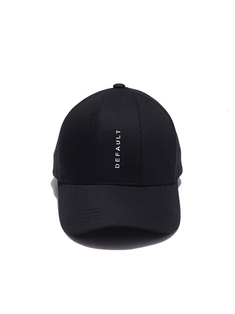 Embroidery 7Pannel Cap(black)