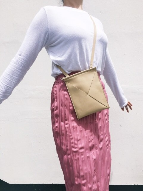 Mini President Bag - Latte Beige Nappa Leather
