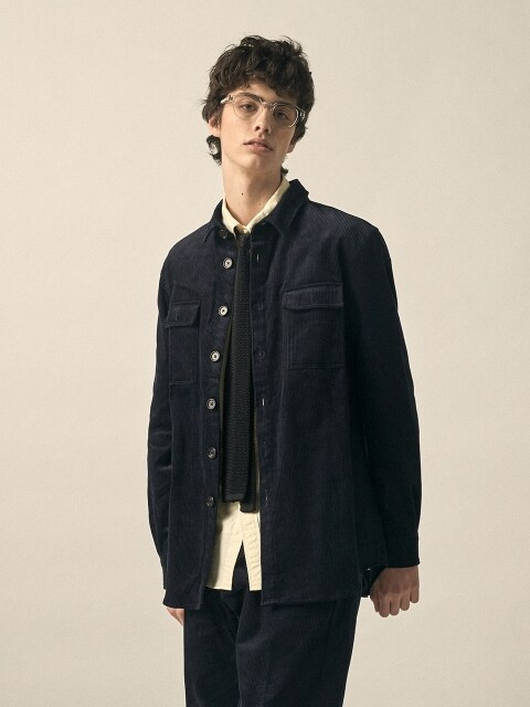 DGRE PORT CORD OVERSHIRTS JACKET