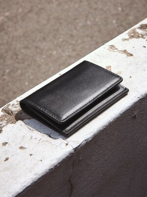Pochette card wallet Black