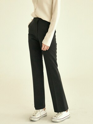 Slim semi bootscut Slacks