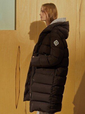 (FOMELLY) LONG PADDED COAT (RERHEE X JBREFINE)