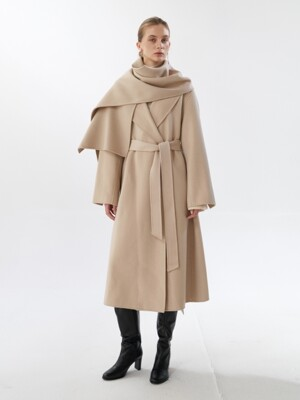 NTW CASHMERE SHAWL COLLAR COAT [HAND MADE] 2COLOR