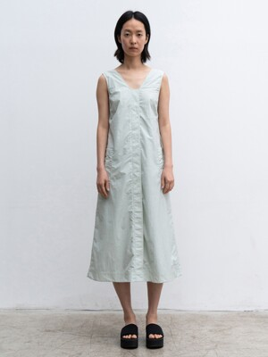 SLEEVELESS LONG DRESS (MINT)