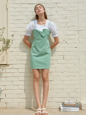 AMR1093 tulip onepiece (mint)