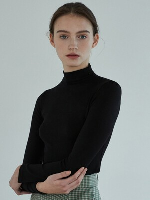 amr1139 half turtleneck (black)