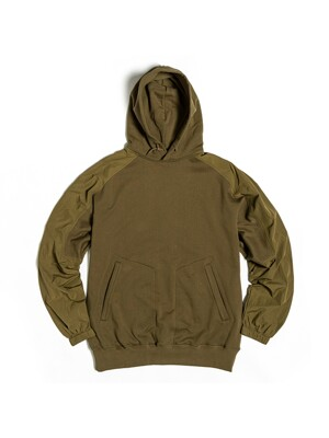 FROG HOODED SWEAT / L.OLIVE