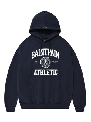 SP UNIVERSITY LOGO HOOD-NAVY
