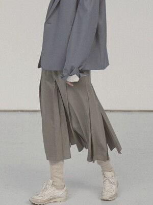 via Chloe long silk skirt