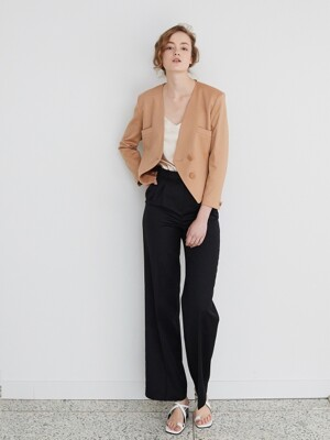 SUMMER WOOL TROUSER