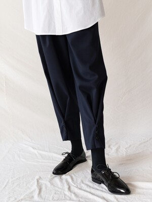 FW19 Folding pants darknavy