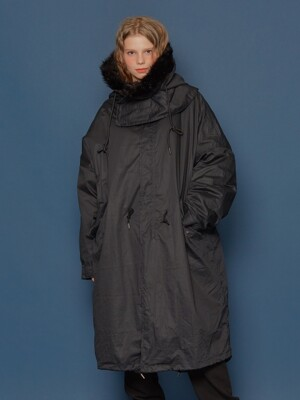 19FW M-65 Fishtail Parka (BLACK)