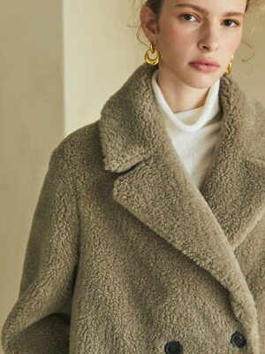 [단독]reversible wool shearing coat (2colors)