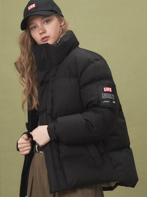 LIFE DUFFLE DOWN JACKET_BLACK