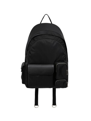 UNISEX LEICESTER BACKPACK aaa239u(BLACK)