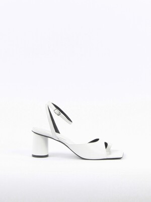 Aveline Sandals Leather White