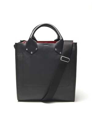 P-LEATHER 2 WAY BAG