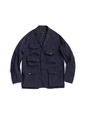 TREKKING JACKET / NAVY NYLON WASHER