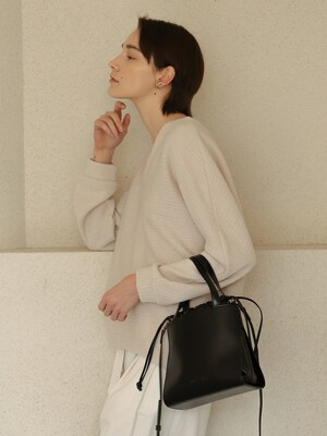LINK BUCKET BAG_BLACK