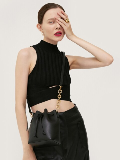 Bucket Bag Black Mini