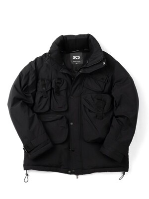 [FW18 SV] Stereo Multi Pocket Down Parka(Black)