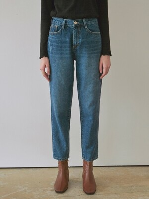 WASH BAGGY STRAIGHT JEAN_DENIM